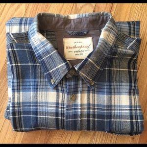Weatherproof Vintage plaid flannel shirt